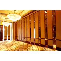 Quality Commercial Decorative Interior Hotel Acoustic Room Dividers Melamine Surface for sale