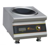 8KW Durable Commercial Induction Wok With One Wok Burner High Efficiency