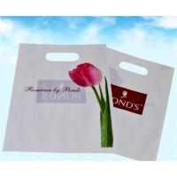 China Plastic Shopping Bags With Handles , Custom Plastic Merchandise Bags on sale