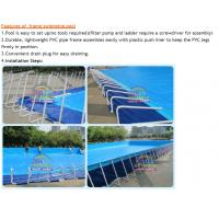 Outdoor Inflatable Frame Pool Above Ground Pvc Frame Pools Swimming Pool For Sale 91138113