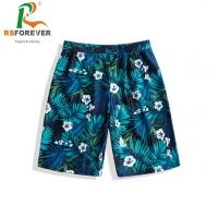 Quality Breathable Surf Mens Boardshorts Polyester Sublimation Printing for sale