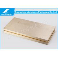 Buy cheap Hot Stamping Cosmetic Packaging Boxes Gold Gift Environmentally Friendly Packaging from Wholesalers