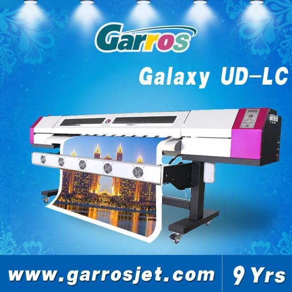 Galaxy181lc Eco Solvent Printer 1 8m Vinyl Banner Printing