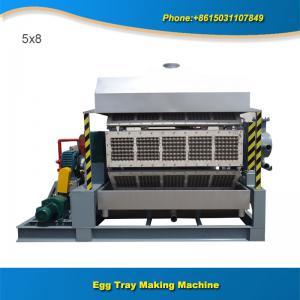 China Paper production machinery 5x8 5000pcs full automatic egg tray manufacturing machine on sale