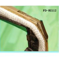 Buy cheap White Gasket Oven Door Glass Fibre Rope , Sealing Rope For Industrial Oven from wholesalers