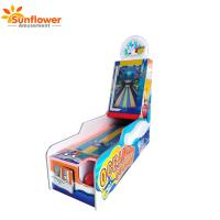 China Amusement Arcade Coin operated redemption 1 Player Ocean bowling video game machine with ticket back on sale