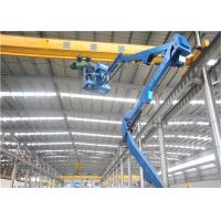 Quality Disel Engine Boom Lift One Man Lift Inertial Sensor Protection Mechanism for sale