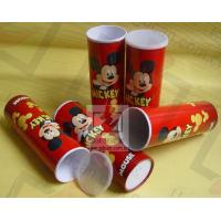 Buy Cardboard Pen Gift Boxes Paper Cylinder Box Micky Mouse Carton Pattern at wholesale prices