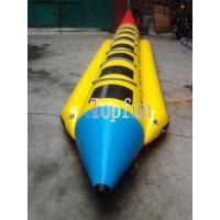 China Inflatable Banana Boat For Sale / 0.9mm Pvc Tarpaulin / OEM Color / Sizes on sale
