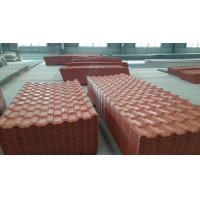 Royal Type Synthetic Resin Colored Roof Tile Asa Pvc