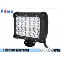 "7"" 72W Led Spot Light Bar Quad Row Combo Flood Light 4 Rows For Heavy Duty Vehicles SUV ATV UTV"