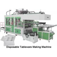 Quality Automatic Virgin Pulp Molding Equipment Tableware Thermoforming Machine for sale