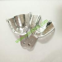 Quality Aluminum Dental Impression Tray with holes L / M / S /Side Teeth / Anterior Teeth  (can be autoclave) for sale