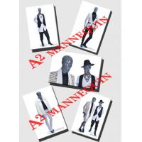 China ARNOLD GROUP,FIBREGLASS FULL BODY MALE MANNEQUINS ABSTRACT BALD HEAD MATT COLOR on sale
