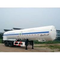 Quality 20000L-2 Axles-Cryogenic Liquid Lorry Tanker for Liquid Oxygen for sale