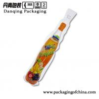 Buy Bottle shape plastic bags, injection doypack for water&juice Customized at wholesale prices