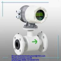 China cheap RS485 SS316 electromagnetic beverage flow meter(CE certified)