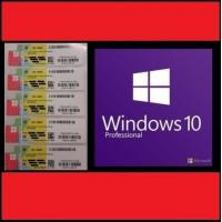 Quality OEM Version Windows 10 Pro Key Code COA Stickers With Lifetime Warranty for sale