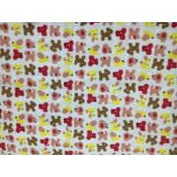 Printed brushed wholesale baby flannel fabric of merryxu for Wholesale baby fabric