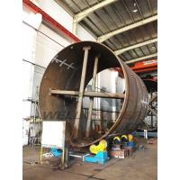 Quality Self Alignment Welding Rotator Turning PU Rollers Inverter 40 Ton Pipe for sale