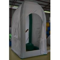 Quality PVC Inflatable Outdoor Convenient Easy to Open with a Toilet Tent for Camping for sale