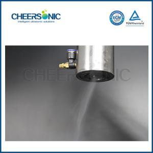 Buy cheap Anti-Static Liquid Ultrasonic Spray Ultrasonic Solar Glass Coating Atomizing Spray Machine Factory from Wholesalers