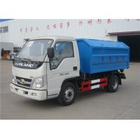 China Forland 3m3 Rubbish Removal Truck , Hydraulic Arm Waste Garbage Truck on sale