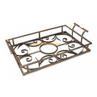 Quality Quality assured custom designed different color decorative metal serving tray wholesale for sale