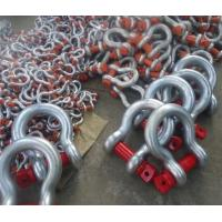 Quality U.S TYPE Arched Shackles with cotter pins G209 for sale