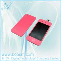 Quality HOT seller!!!Pink LCD Digitizer for iPhone 4s with Back Cover in Low Price for sale