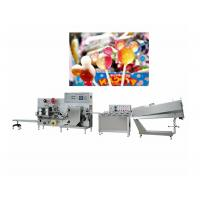 Quality Flat Lollipop Molding Candy Packaging Machine Capacity 200-600pcs / Min for sale