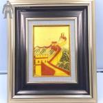 Quality Home Decoration Metal Frame Art , Aluminium Steel Brass Metal Photo Frame for sale