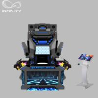 Quality 1 Seat Real Track VR Racing Simulator / 360 Degree Electric Motion  Car Racing Machine for sale
