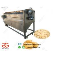 Quality High Efficiency Potato Washing and Peeling Machine In French Fries Production Line Or Potato Chips Production Line for sale