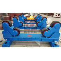 Quality 20T Pipe Welding Rotator with Manual Travel Bogie , One Motorized unit and Three Idle Units for sale