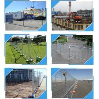 Quality Building Site Temporary Fencing Panels , Temporary Event Fencing 32mm 38mm Frame Dia for sale