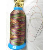 China High strength quilting thread rainbow color polyester 150D/3(size 30) on sale