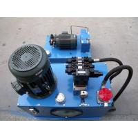 Quality Professional fuel or electric hydraulic power pack  unit 12V / 24Volt DC & AC for sale