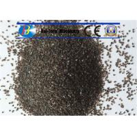 Buy Grit Brown Sand Blast Media High Cycle Index Aluminum Oxide 9.0 Mohs Hardness at wholesale prices