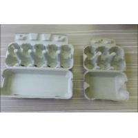 Quality Safety Molded Pulp Products , Eco-Friendly Molded Pulp Trays For Egg Packaging for sale