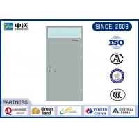 High Protection Commercial Fire Rated Doors / Steel Fire Door ISO9001 2008 Certificate