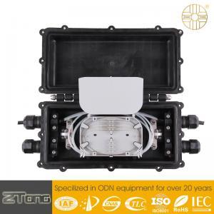 Horizontal Fiber Optic Splice Closure Fiber Optic Distribution Box 96 Fibers