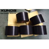 Quality ISO 21809 External Pipe Coating Materials Corrosion Resistant Tape Black Color for sale