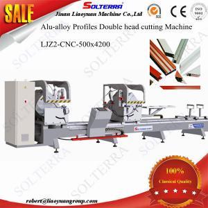 Quality CNC Double Head Precision Cutting Saw LJZ2-CNC-500x4200 for sale