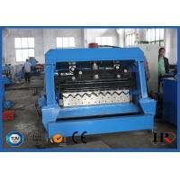 Quality 1.5-3.0mm Corrugated Steel Granary Silo Roll Forming Machine Gcr15 Roller Material for sale