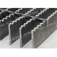 Quality 30x3 Platform Serrated Bearing Bar Steel Grating , Stainless Steel Floor Grating for sale