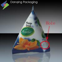 Quality Food Grade Stand Up Pouch Moisture Proof Triangular Shaped Doypack for sale