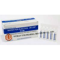 Buy cheap Western Medicine Sterile Water Injection Medicine BP / USP Diluent for solvent or injection of sterile powder from Wholesalers
