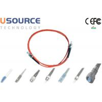 China SC-FC Fiber Patch Cord Multimode Single Core Splicing Networking Solutions on sale