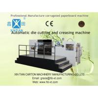 Quality Automatic Die Cutting Corrugated Carton Packaging Cardboard Box Making Machine for sale
